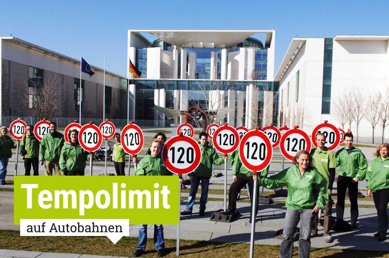 Geschwindigkeitsbegrenzung Autobahn Deutschland Karte.Tempolimit Auf Autobahnen Für Mehr Klimaschutz Und Verkehrssicherheit